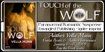 Tour Banner - Touch of the Wolf