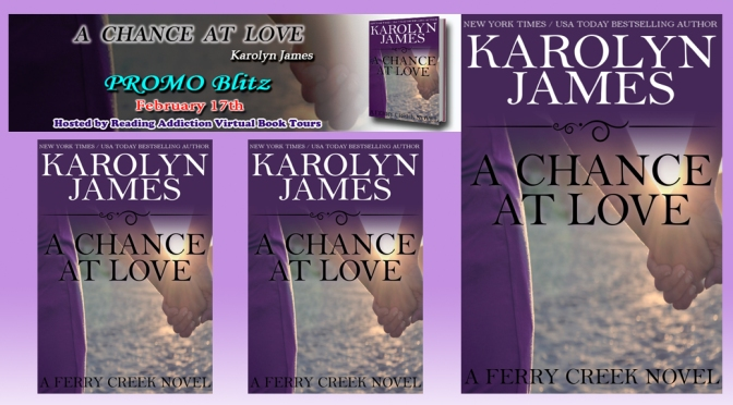 Blurb: A CHANCE AT LOVE by Karolyn James
