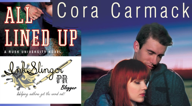 Cover Reveal: ALL LINED UP by Cora Carmack