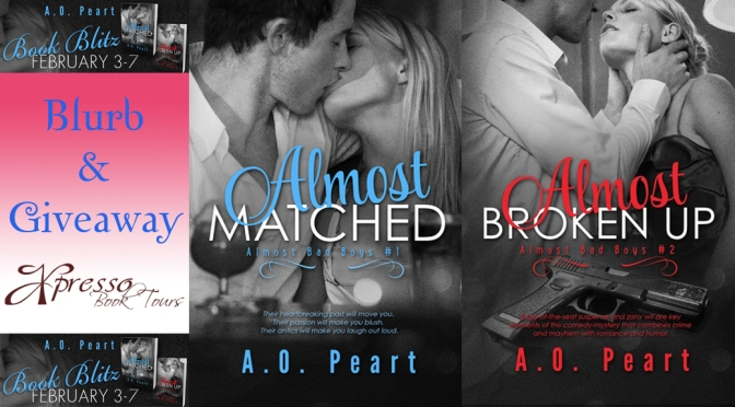 Blurb & Giveaway: ALMOST BAD BOYS series by A.O. Peart