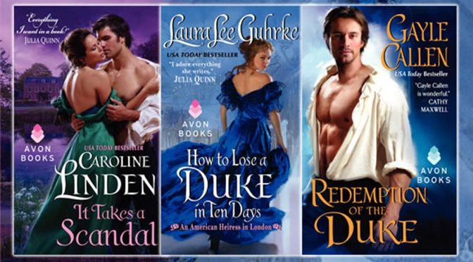 Guest Post, Review, Excerpts, & Giveaways: TWO DUKES AND A SCANDAL Book Tour