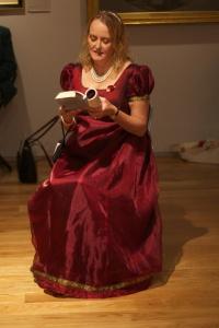 Jane Lark reads at The Festival of Romance, 2013