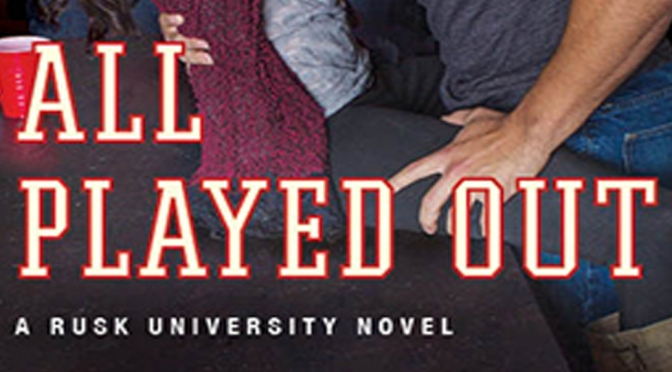 Cover Reveal: ALL PLAYED OUT by Cora Carmack