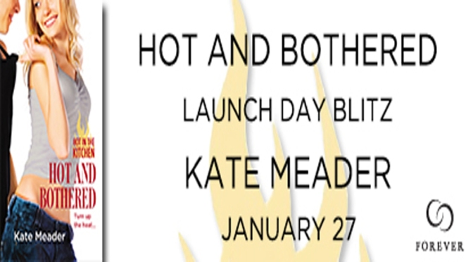 Interview, Excerpt, Review & Giveaway: HOT AND BOTHERED by Kate Meader