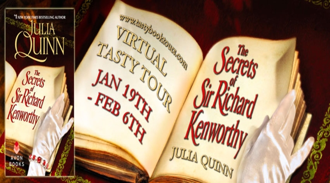 Excerpt & Giveaway: THE SECRETS OF SIR RICHARD KENWORTHY by Julia Quinn