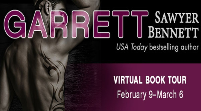 Interview, Excerpt, & Giveaway: GARRETT by Sawyer Bennett
