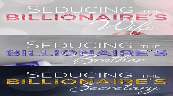 Cover Reveal: SEDUCING THE BILLIONAIRE'S Series by Marquita Valentine